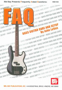 Book cover of FAQ : bass guitar care and setup