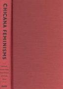 Book cover of Chicana feminisms : a critical reader