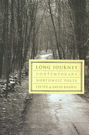Book cover of Long journey : contemporary Northwest poets