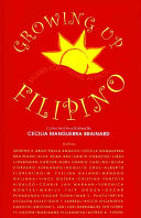 Book cover of Growing up Filipino : stories for young adults
