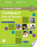 COMPACT FIRST FOR SCHOOLS STUDENT'S BOOK