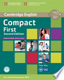 Compact first. Student's book. Without answers.Per le Scuole superiori. Con CD-ROM