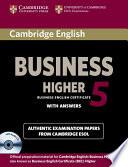 Business Higher 5 BEC