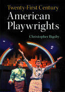 Book cover of Twenty-first-century American playwrights