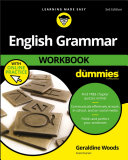 Book cover of English grammar workbook for dummies