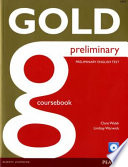 GOLD PRELIMINARY - COURSEBOOK (con CD-ROM)