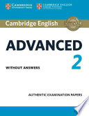 Advanced 2: authentic examination papers