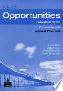 New opportunities pre-intermediate Education for life language powerbook