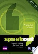 SPEAKOUT PRE-INTERMEDIATE STUDENT'S BOOK