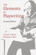 Book cover of Elements of playwriting