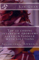 Top 10 coding interview problems asked in Google with solutions