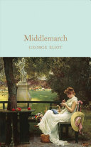 Book cover of MIDDLEMARCH.