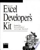Microsoft Excel Developer's Kit Version 5 + 2 Floppy 3.5