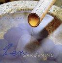 Book cover of Zen gardening