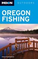 Book cover of Moon Oregon fishing