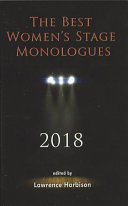 Book cover of The best women's stage monologues 2018