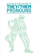 Book cover of A quick & easy guide to they/them pronouns