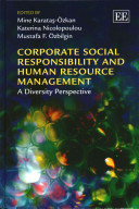 Book cover for Corporate social responsibility and human resource management : a diversity perspective