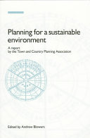 Planning for a sustainable environment