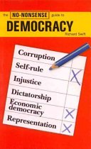 Book cover of The no-nonsense guide to democracy