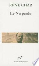 Le Nu perdu  lingua francese