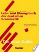 Lehr und Ubungsbuch der deutschen Grammatik