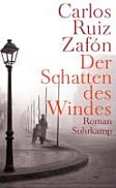 Copertina  Der Schatten des Windes : roman