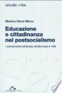 Educazione e cittadinanza nel post socialismo. I cambiamenti nell'Europa dell'Est dopo il 1989