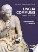 lingua communis morfosintassi 1