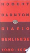DIARIO BERLINESE 1989 - 1990