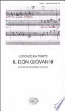 Il Don Giovanni - Lorenzo Da Ponte