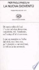 La Nuova gioventù. Poesie Friulane 1941-1974