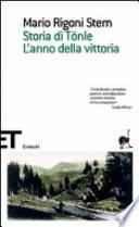 STORIA DI TONLE - L'ANNO DELLA VITTORIA