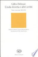 L'isola deserta e altri scritti. Testi e interviste 1953-1974
