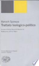Trattato teologico-politico A cura di Emilia Giancotti Boscherini