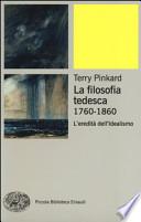 LA FILOSOFIA TEDESCA 1760-1860