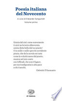 POESIA ITALIANA DEL 900 VOL1 E VOL2