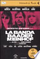 La banda Baader-Meinhof. DVD + LIBRO