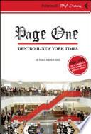 Page One: Dentro Il New York Times. DVD più libro