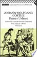 Faust e Urfaust - Testo originale a fronte - Volume II