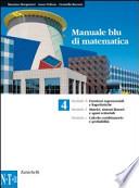 MANUALE BLU DI MATEMATICA CONF. 4