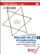 MANUALE BLU 2.0 DI MATEMATICA CON MATHS IN ENGLISH,3  S L+DIGILIBRI+ACTIVEBOOK+LIMBOOK