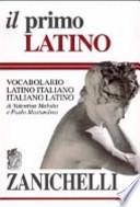 Il primo latino vocabolario latino-italiano, italiano-latino