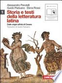 Storia e testi della letteratura latina