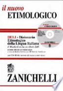 DELI - DIZIONARIO ETIMOLOGICO DELLA LINGUA ITALIANA