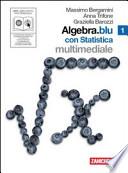 ALGEBRA.BLU CON STATISTICA VOL. 1