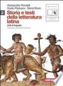Storia e testi della letteratura latina  l'età di augusto