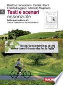 Testi e scenari essenziale vol.5