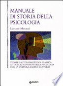 Manuale di storia della psicologia