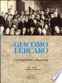 GIACOMO LERCARO. UN�ESPERIENZA EDUCATIVA
